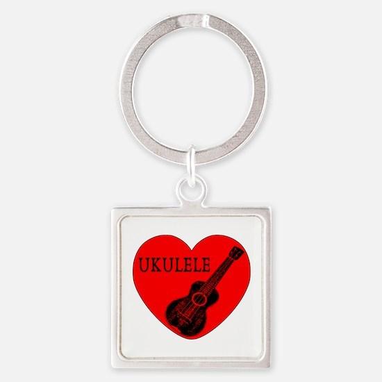 Ukulele Love Keychains