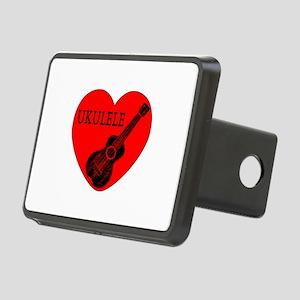 Ukulele Love Rectangular Hitch Cover