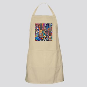 Pop Art Guitar Art Music Art Apron