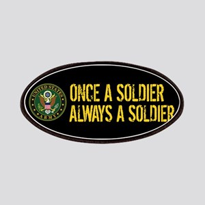 U.S. Army: Once a Soldier, Always a Soldier Patch