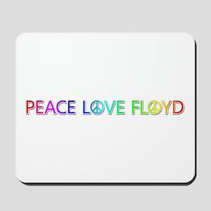 Peace Love Floyd Mousepad