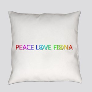 Peace Love Fiona Everyday Pillow