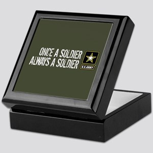 U.S. Army: Once a Soldier (Military G Keepsake Box