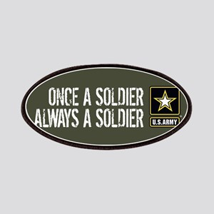 U.S. Army: Once a Soldier (Military Green) Patch