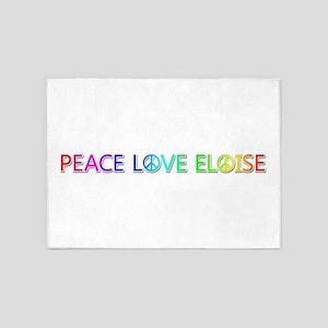 Peace Love Eloise 5'x7' Area Rug