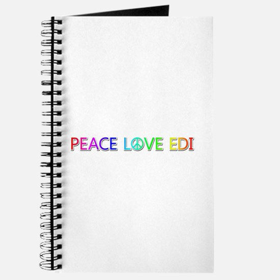 Peace Love Edi Journal