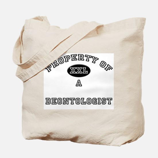 Property of a Deontologist Tote Bag