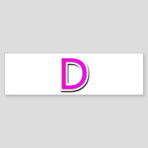 Peace Love D Bumper Sticker