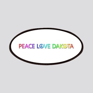 Peace Love Dakota Patch
