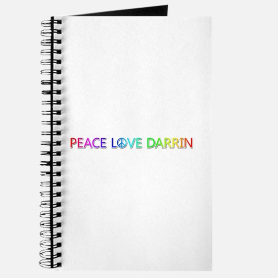 Peace Love Darrin Journal