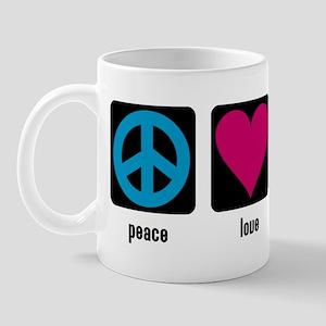 Peace, Love, Reflex Mug