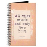 """""""All That Music"""" Journal"""