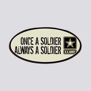 U.S. Army: Once a Soldier (Sand) Patch