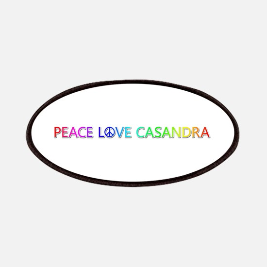Peace Love Casandra Patch