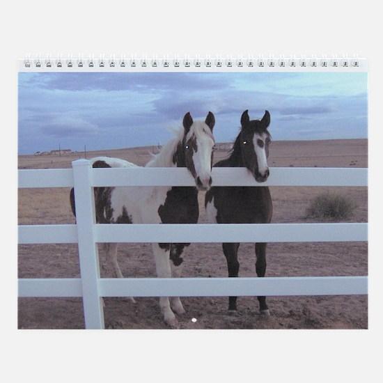 Horse Wall Calendar