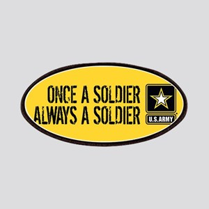 U.S. Army: Once a Soldier (Gold) Patch