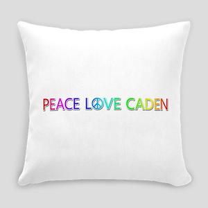 Peace Love Caden Everyday Pillow