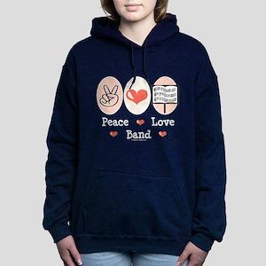 Peace Love Band Sweatshirt