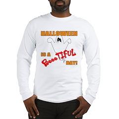 Halloween is Boootiful Long Sleeve T-Shirt