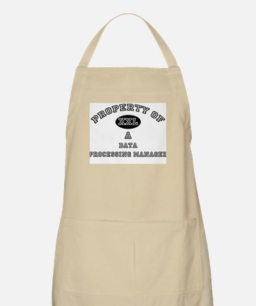 Property of a Data Processing Manager BBQ Apron