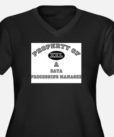 Property of a Data Processing Manager Women's Plus