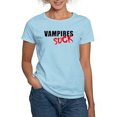 Vampires Suck Women's Light T-Shirt