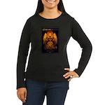 Highbury Working Women's Long Sleeve Dark T-Shirt