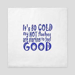 cold:humor Queen Duvet