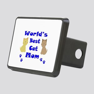 World's Best Cat Mom Hitch Cover