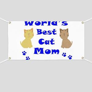 World's Best Cat Mom Banner