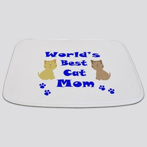 World's Best Cat Mom Bathmat