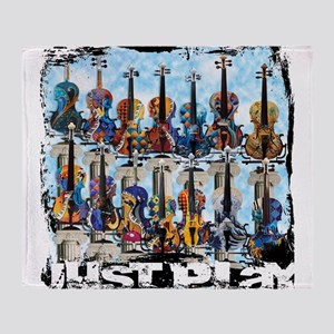 Violin Colorful Design Painted Violin Just Play b