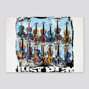 Violin Colorful Design Painted Violin Just Play b