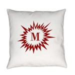 Personalize Initial Everyday Pillow