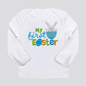 Baby Boy's First Easter Long Sleeve T-Shirt
