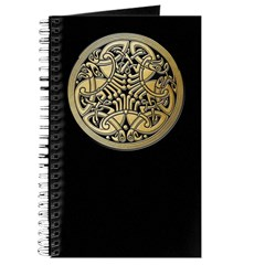 Celtic Knots As Birds Journal Cover