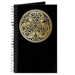 Celtic Knots As Birds Journal Cover