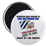 Back to Iraq OIF 2005 Tour Magnet (10 pack)