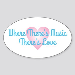 Music Love Sticker