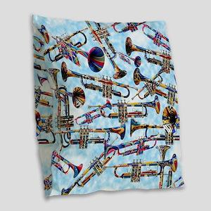Trumpet Player Art Colorful Design Music Decor Bur