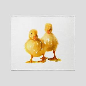 Ducklings Throw Blanket