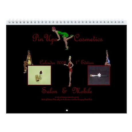 PinUps Cosmetics 2008 Wall Calendar