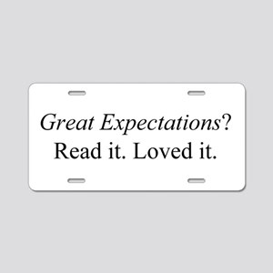 Great Expectations? Aluminum License Plate