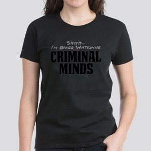 Shhh... I'm Binge Watching Criminal Minds T-Shirt
