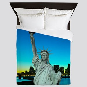 Statue of Liberty Queen Duvet