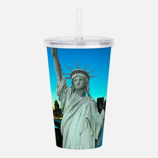 Statue of Liberty Acrylic Double-wall Tumbler