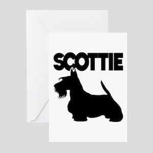 SCOTTIE Greeting Cards (Pk of 10)
