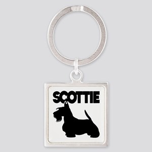 SCOTTIE Square Keychain