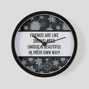 FRIENDS ARE LIKE... Wall Clock