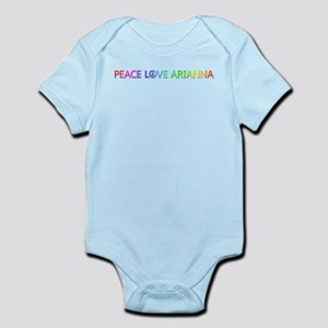 Peace Love Arianna Body Suit